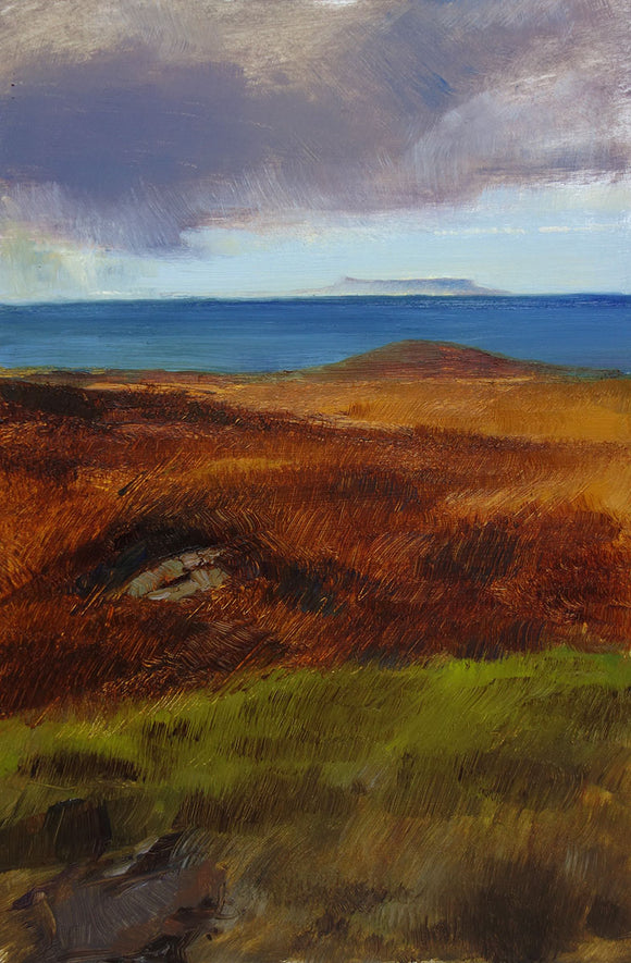 Eigg on the Horizon by Andrew Sinclair