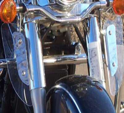 KAWASAKI VULCAN VN1500 NOMAD 1999-2004 REPLACEMENT LOWER WIND DEFLECTORS