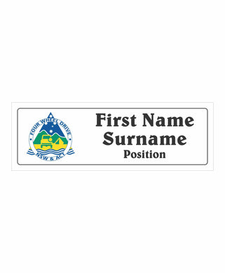 4WD NSW ACT INC Committee Name Badges - Clever Club Products