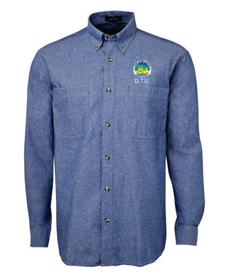 4WD NSW ACT INC DTU Men's Chambray Shirt - Clever Club Products