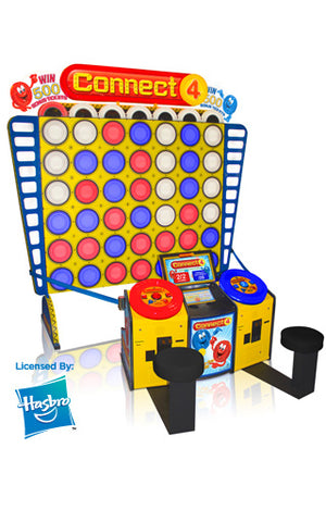 Connect 4 Giant Model Ticket Arcade Game