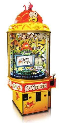 Dizzy Chicken Ticket Arcade Game
