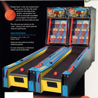 Basket Fever Alley Roller Arcade Game