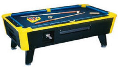 Neon Lites Coin Operated Pool Table (6'-9')