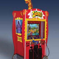Zoofari Ticket Arcade Game