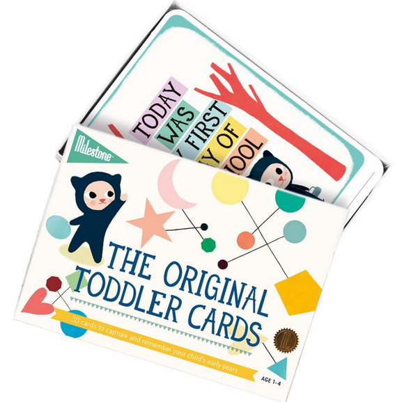 The Original Toddler Milestone Cards (English)