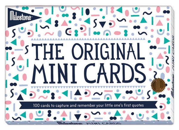 Milestone Baby Cards - The Original Mini Cards (English)