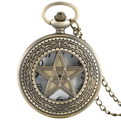 Pentagram Pocket Watch  - Cradle Of Goth