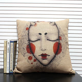 Demon Pillow Case  - Cradle Of Goth