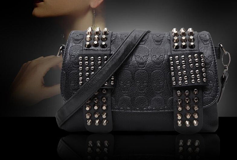 Horror Spikes Bag  - Cradle Of Goth