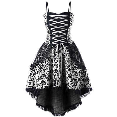 Goth Doll Dress (plus sizes available)  - Cradle Of Goth