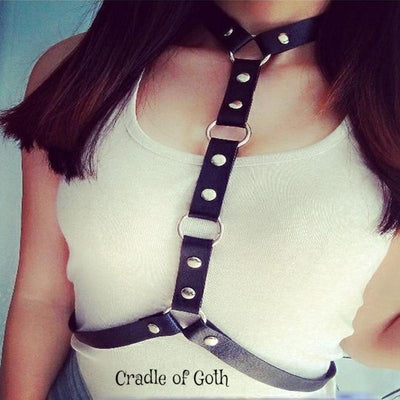 Cage Choker  - Cradle Of Goth