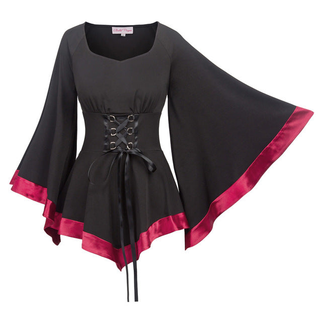 Gothic Enchantress Blouse 2 Womens Blouse / L - Cradle Of Goth