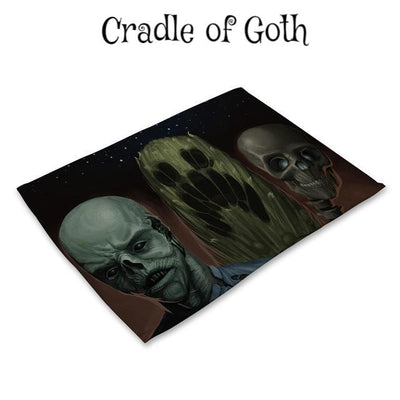 Table Mats of Horror Pattern 18 - Cradle Of Goth