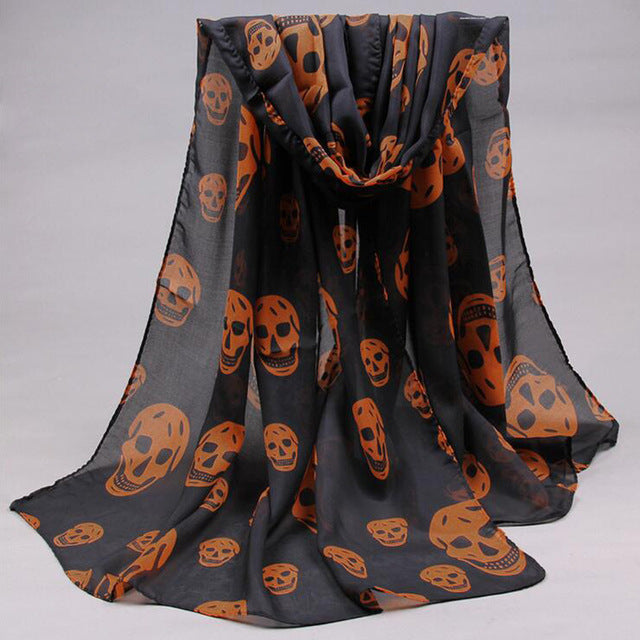 Laughing Death Shawl 3 - Cradle Of Goth