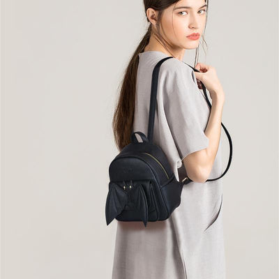 Batty Backpack (Vegan Leather)  - Cradle Of Goth