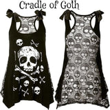 The Daughter of Hades Dress  - Cradle Of Goth