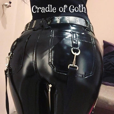 Hardcore Chick Pants (Vegan)  - Cradle Of Goth