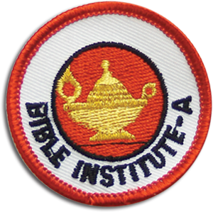 Jr Children's Bible Institute A Badge