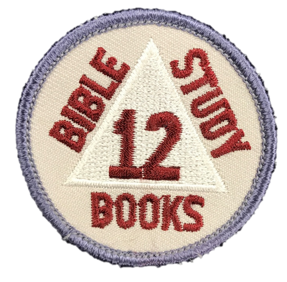 OLD Discovery Bible Books 12 Badge