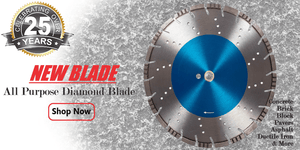 New All Purpose Diamond Saw Blade Slide Show Pic