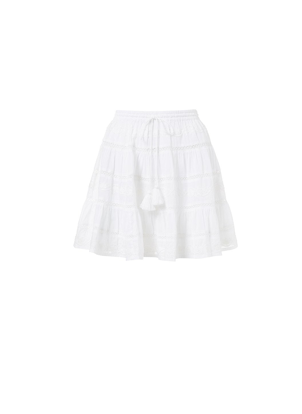 anita white tassle skirt 2019