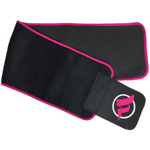 Load image into Gallery viewer, pink fitru waist trimmer swatch