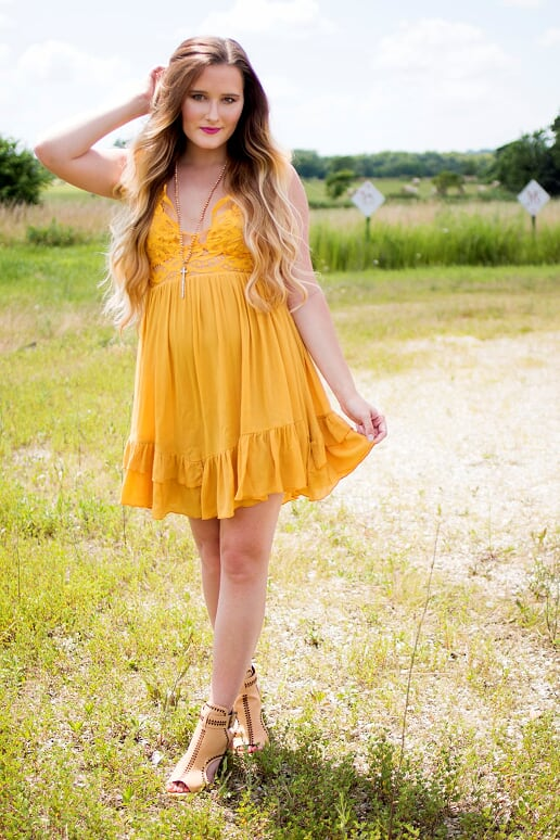 Honey Ruffle Dress