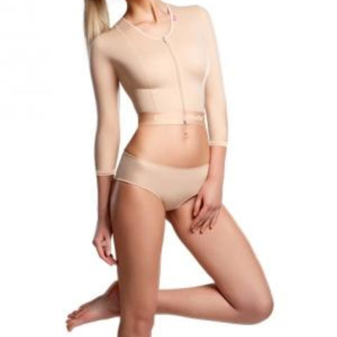 Lipoelastic MT Smooth Comfort Post Surgical Compression Garment - Natural