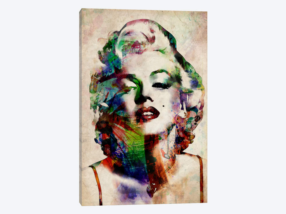 Watercolor Marilyn Monroe