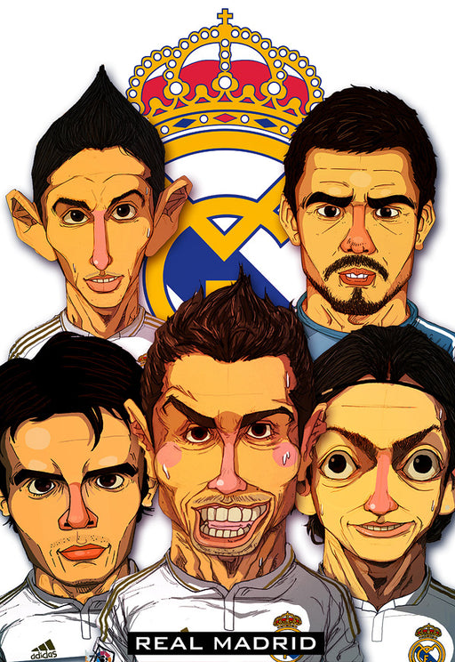 Real Madrid Reyes De Europa