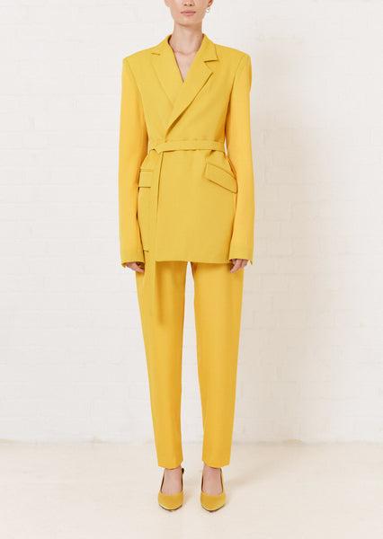 Yellow Tailored Trouser