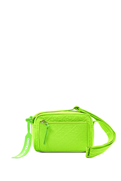 'HOH' Neon Green Embroidered Cross Body