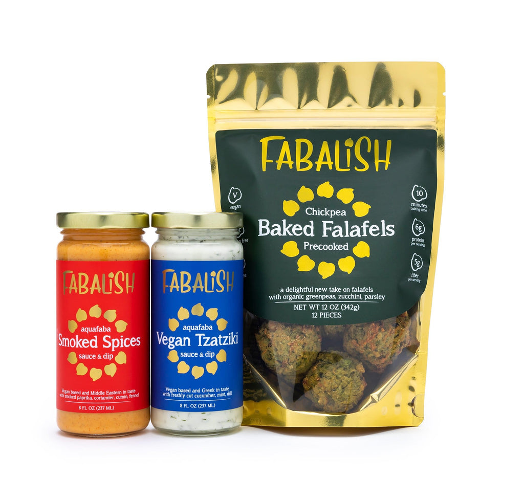 2 Sauces & 4 Falafel Bags - Free Shipping Package