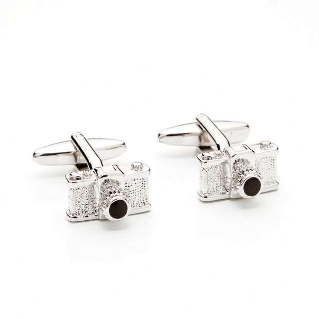 Old-School Camera Cufflinks
