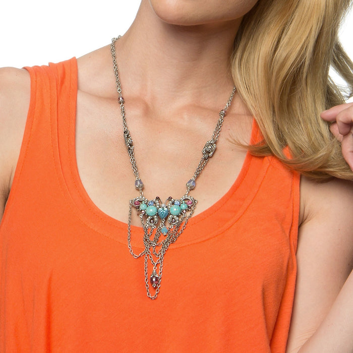 Tang Gemstone Butterfly Necklace - ONLY 8 LEFT! - sweetromanceonlinejewelry