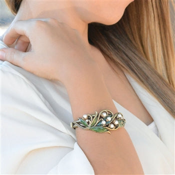 Lily of the Valley Bracelet - sweetromanceonlinejewelry