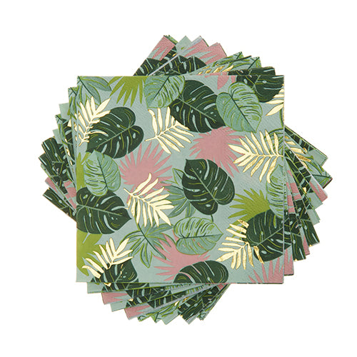 MONSTERA PARTY NAPKINS