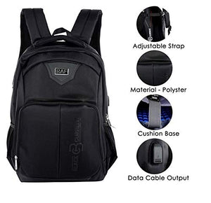 Raf Travel Laptop Backpack (16 inch) with USB Charging Port