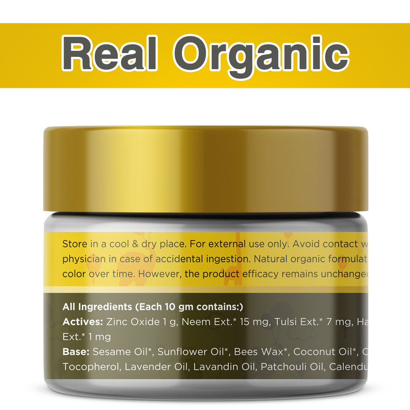 Natural Diaper Rash Cream