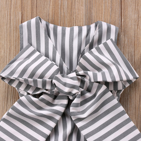Image of WEST PALM BEACH BOW ROMPER - Elsa Bella Baby