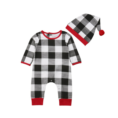 Plaid Baby Two-Piece Outfit