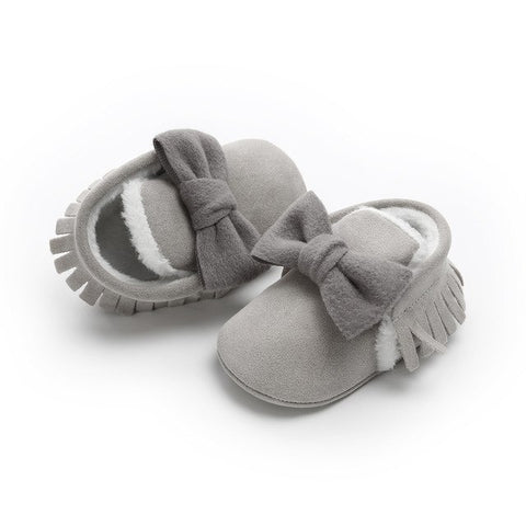 Image of Mighty Moccs with Bowknot Soft Sole