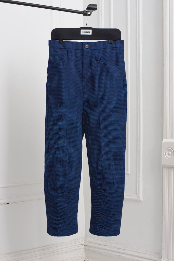 TAILORED SHAPED TROUSERS