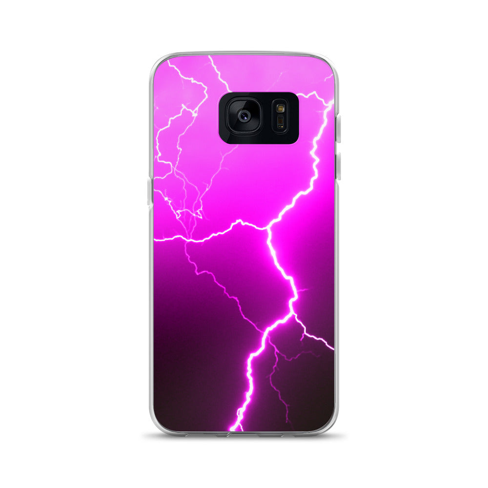 Pink Lightning Samsung Case - Aly Pictured It