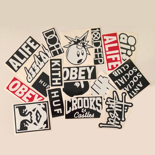 Streetwear Sticker Pack