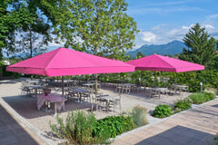 "18'1"" Custom Rectangular Umbrellas"