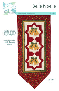 Belle Noelle- a Christmas Wall hanging quilt pattern