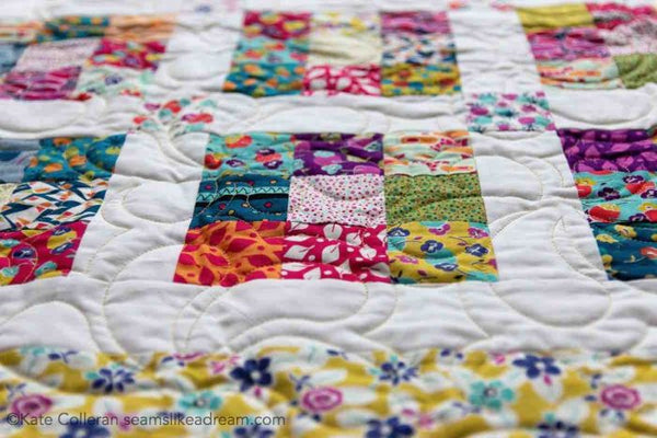 Ninth Square- strip quilt