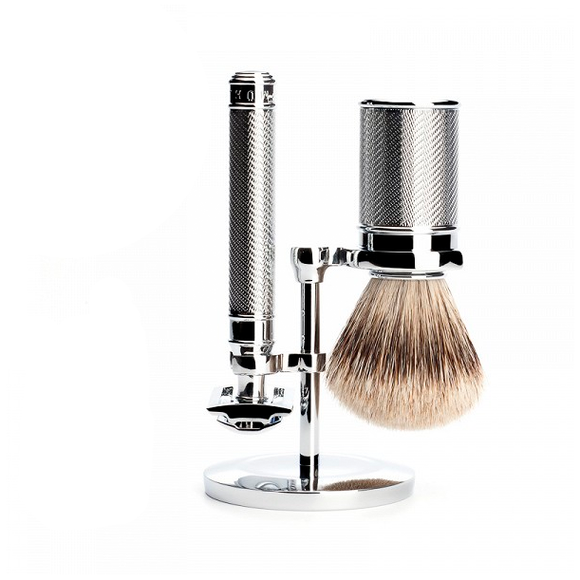 Muhle S091M89SR Traditional Safety Razor Shaving Set
